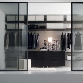 White Sliding Door Wardrobe by Jesse