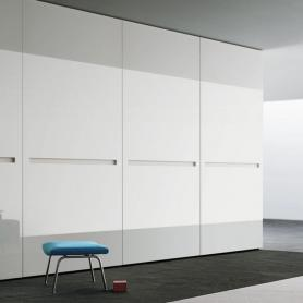 Glass Door Sliding Wardrobe - Logo