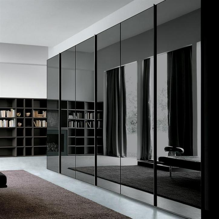 modern closet door ideas - Wardrobe High Gloss Logo