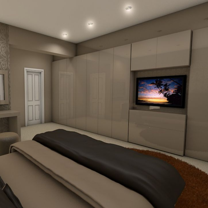 Design copy189 for Bedroom designs with tv and wardrobe