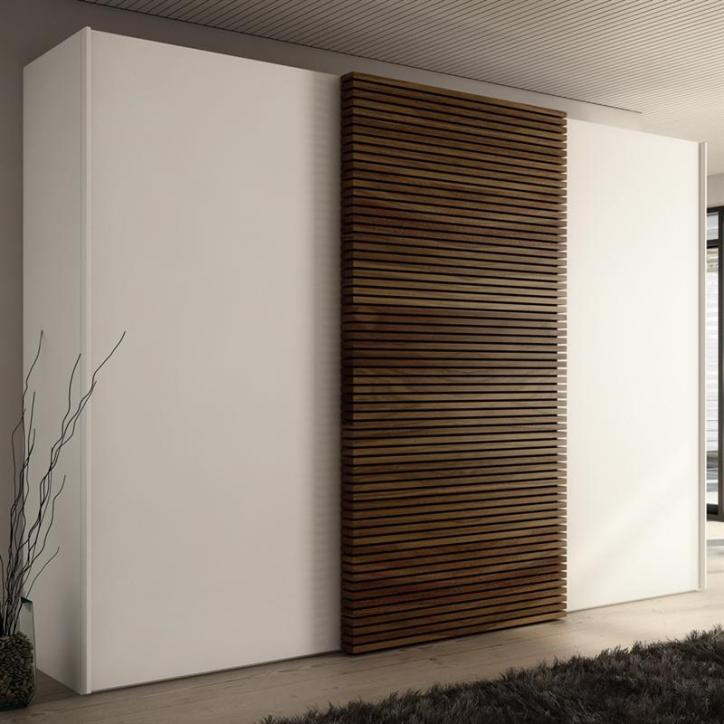 Multi forma ii sliding wardrobe hulsta for Sliding wardrobe interior designs